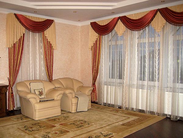 Шторы для гостиной описание шторы для